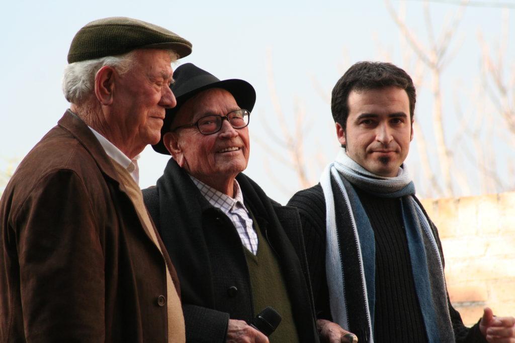 El Patiñero, Juan Rita y Javier Andreo. Fotografía: Tomás García.